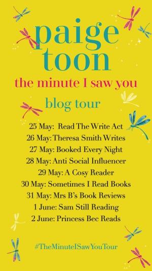 Paige Toon Blog Tour