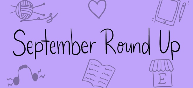 September Round Up Blog Header A Cosy Reader
