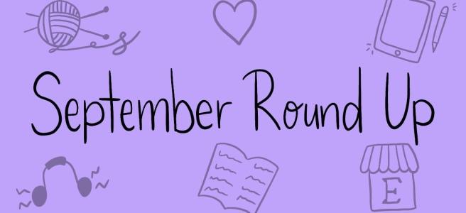 September Round Up Blog Header A Cosy Reader